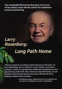 DVD cover for Larry Rosenberg